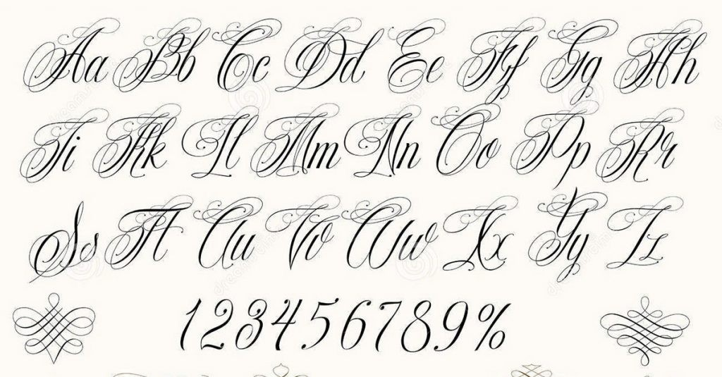 Letras De Tatuajes A1group Co