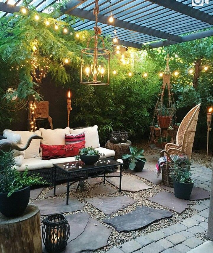 Outdoor Sitting Area Yard Porch Areas Pinterest Terraza