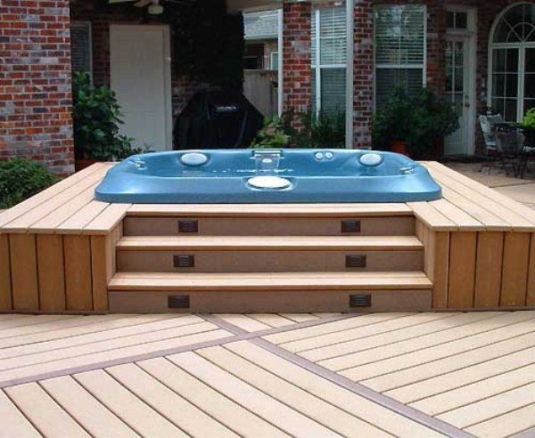 Pin By Joseph Hanna On Patio Pinterest Tub Hot Deck And