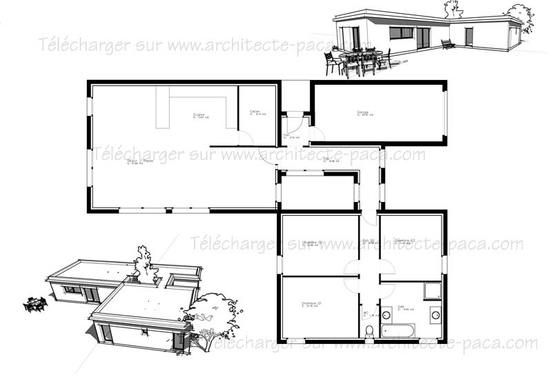 Plan De Maison Gratuit Pdf Architecte D Homewreckr Co A1group