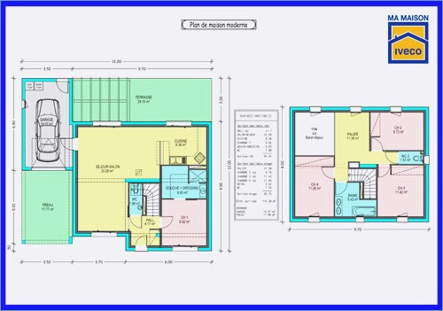 Plan De Construction Maison 0 R 2 Modernes Systembase Co 8