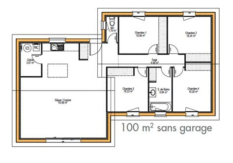 Plan Maison Individuelle Moderne A1group Co